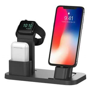 BEACOO Charging Stand Dock and Apple Watch Stand