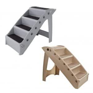 PETMAKER Folding Plastic Pet Stairs