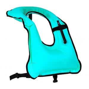 Faxpot Men/Women Inflatable Snorkel Vest