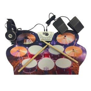 Rock And Roll It Electric Drum Set with Hi hat pedals