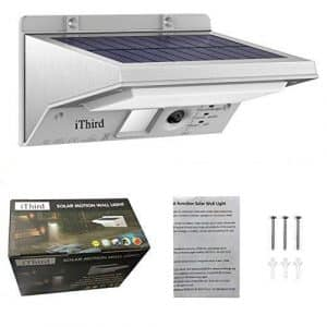 iThird 21 LED 330LM Solar Powered Security Lights