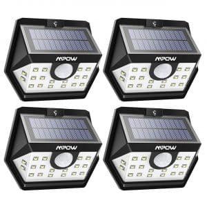 Mpow Solar Lights Outdoor