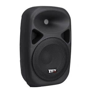 "LyxPro SPA-8 Portable PA System 8"" Power Active Speaker Equalizer"