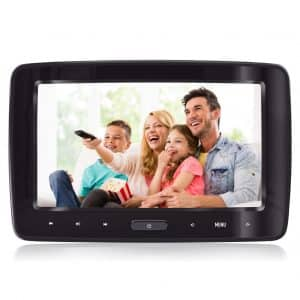 eRapta- Headrest Car or Home DVD Player