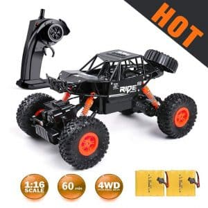 MaxTronic Remote Control Car Off-Road with Two Rechargeable Battery