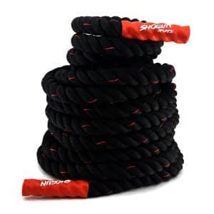 Shogun Sports Battle Ropes Fitness and Strength PolyDacron Workout Ropes