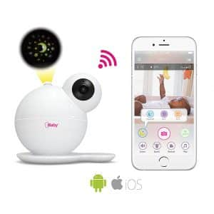 iBaby WiFi M7 Baby Monitor Motion and Cry Alert