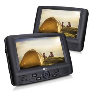 CUTRIP Dual Screen Portable 9 Inch DVD Player, Region Free