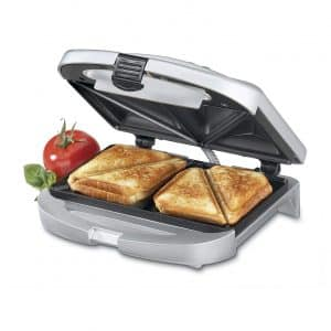 Cuisinart Dual-Sandwich WM-SW2N Nonstick Electric Grill