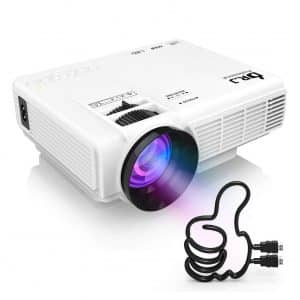 DR. J Professional Mini Projector- 40,000 Hours