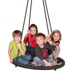 M & M Sales Enterprises MM00124Web Outdoor Swing