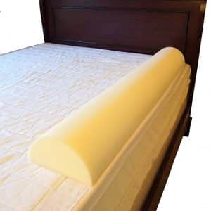 Stay Put Big Girl/Boy Semicircle Bed Rail Bumper Pad for Toddler