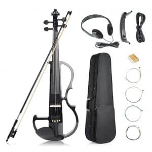 Vangoa Black Electronic Violin