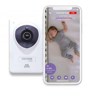 Cocoon Cam plus with Breathing Monitoring Baby Monitor