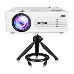 QKK Mini Projector 1080P Supported