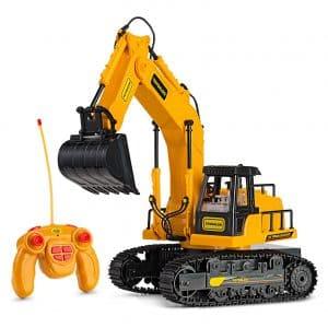 Remote Control RC Excavator Toy Truck