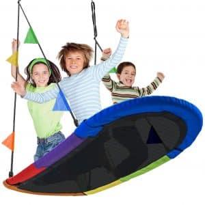 Sorbus Saucer Swing Surf Swing