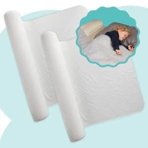 Hiccapop Bed Rail Bumper – 2 Pack