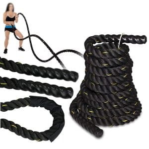 "SUPER DEAL Poly Dacron 1.5""/2"" Diameter, Battle Rope Workout Training Rope"