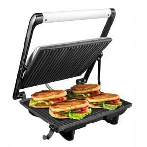 Panini Press 4-Slice Extra Large Gourmet Sandwich Maker