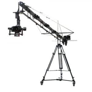 PROAIM 21ft Alphabet Jib Crane Tripod Stand with Carrying Bag