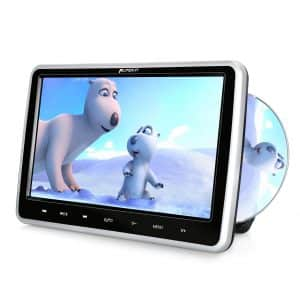 PUMPKIN 10.1 inches DVD Player for Car and Home Use