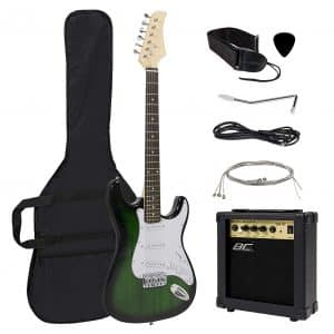 Best Choice Products 41in Full Size Beginner Electric Guitar