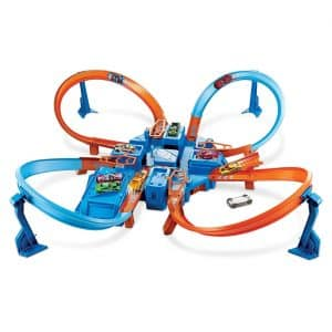 Hot Wheels Crash Criss-Cross Track Set