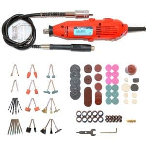 AOBEN - Rotary Tool Kit with Variable Speed and Storage Case