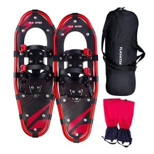 "FLASHTEK 21""/25""/30"" Light Weight Aluminum Snowshoes"