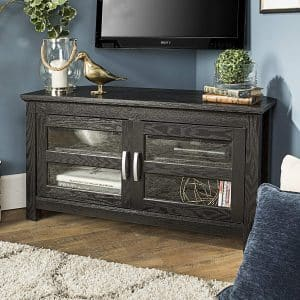 New 44 Inch Wide Corner TV Stand