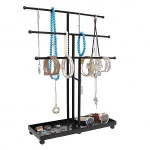 MyGift 3 Tier Jewelry Organizer