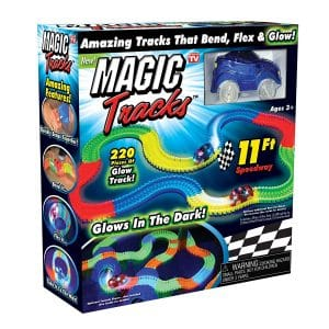 Ontel Magic Tracks Flex and Glow Amazing Racetrack That Can Bend