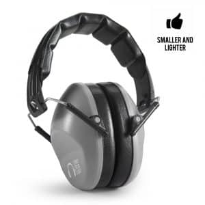 Pro For Sho Shooting Ear Protection - Standard Size, Grey