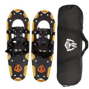 "ENKEEO 18"" 21"" 25"" 30""All Terrain Lightweight Snowshoes"