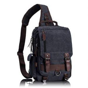 Leaper Retro Rucksack Sling Bag