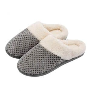 Women's Comfort Coral Fleece Foam Slippers