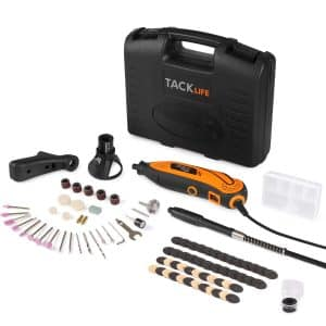 TACKLIFE Rotary Tool Kit with 80 Accessories and Variable Speed