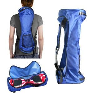 """Adjustable 6.5/"""" Hoverboard Backpack Storage Carrying Bag For Smart Balance Board"""
