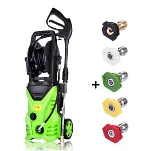 Schafter ST5 3000 PSI Electric Pressure Washer, Hose Reel