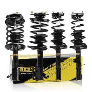 Oredy Four Piece Set Of Struts For Chevy Prizm And Toyota Corollas Of The 90s