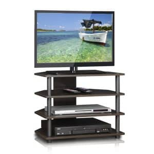 Furinno 15093CC/GY Turn-N-Tube TV Stand