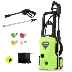 PaPafix 2600 PSI Electric Pressure Washer with Nozzles & Spray Gun