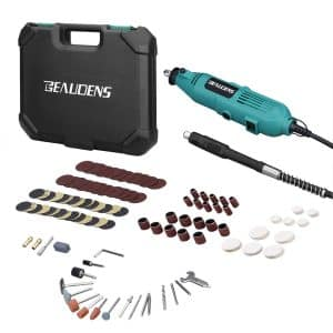 BEAUDENS Rotary Tool Kit with 6 Adjustable Speed and Flex Shaft