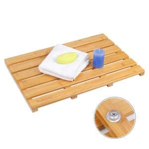 Bamboo Shower Mat by Ecobambu