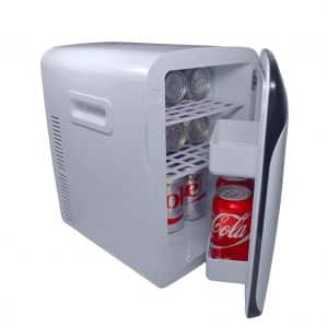 Cooluli CMF15LW Mini Fridge Electric Cooler and Warmer
