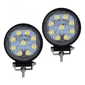 YITAMOTOR Round LED Light Bar