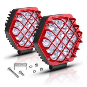 "AUTOSAVER88 5"" LED Off-road Fog Driving Lights"