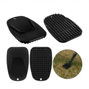 Frienda 4 Pieces Motorcycle Kickstand Pad