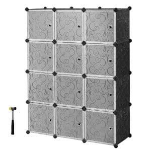 SONGMICS Plastic Storage Organizer for Bedroom